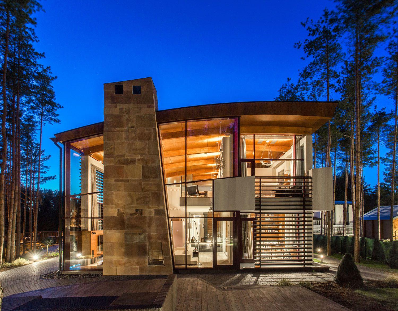 Ultramodern Villa Estebania Near the Forrest by Arch-D-15