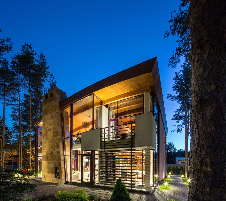 Ultramodern Villa Estebania Near the Forrest by Arch-D-16