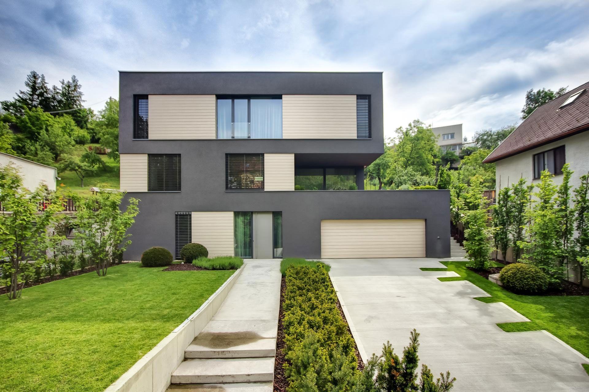Villa M by Architektonicke Studio Atrium-01