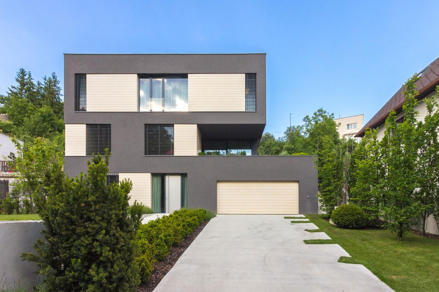 Villa M by Architektonicke Studio Atrium-02