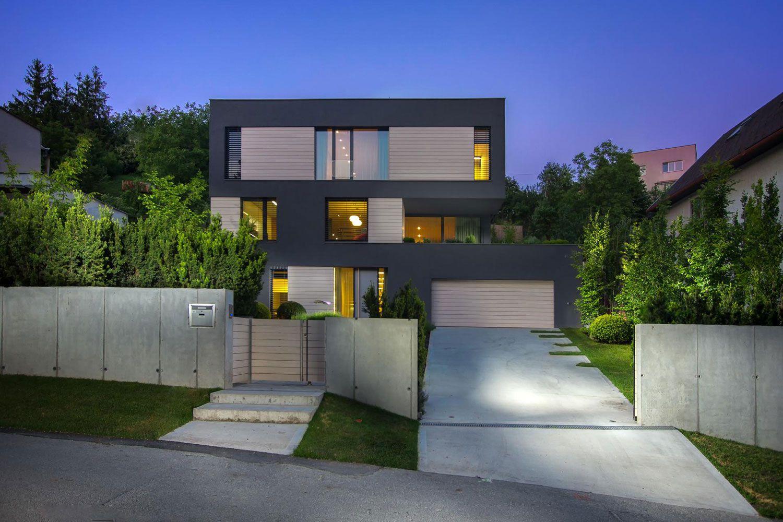 Villa M by Architektonicke Studio Atrium-34