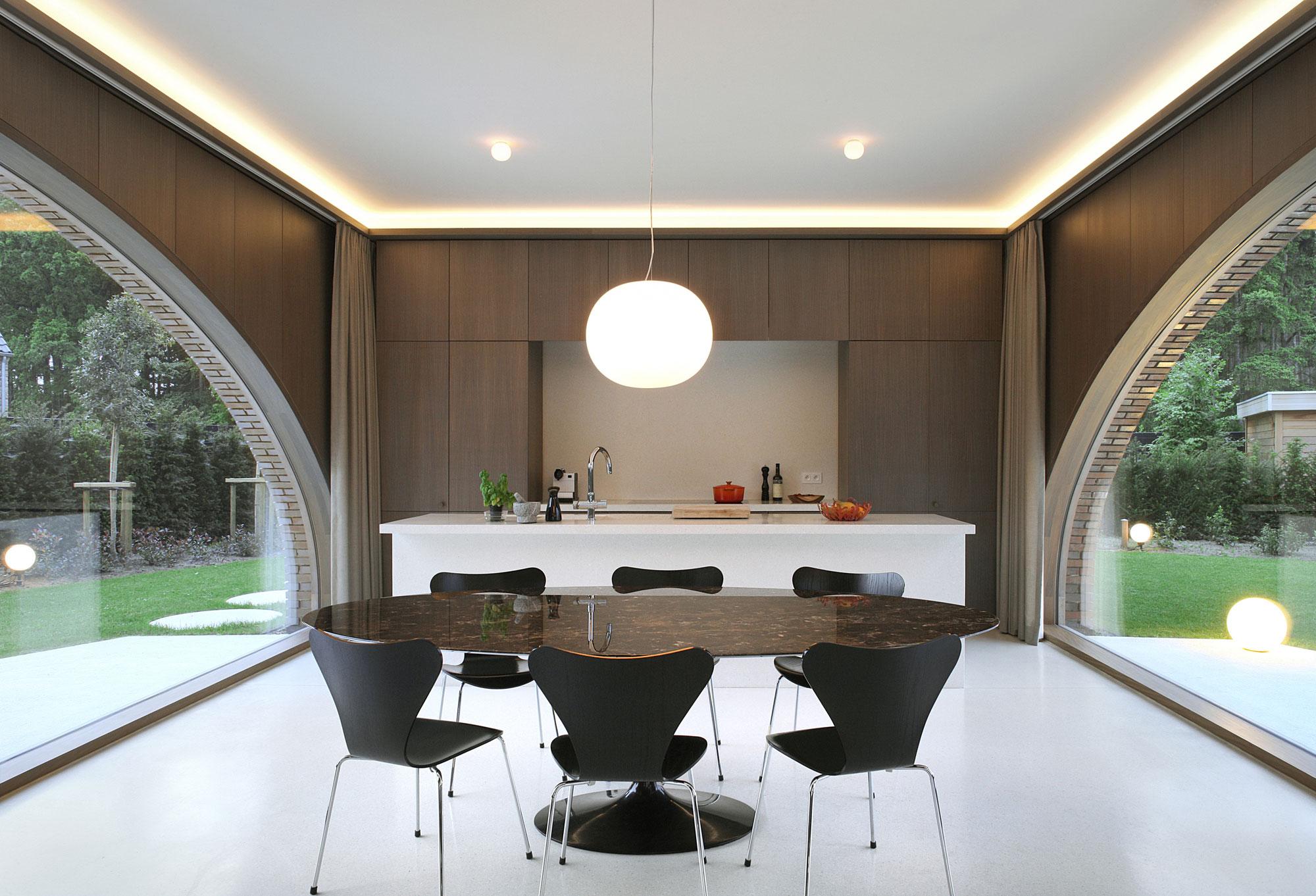 Villa Moerkensheide by Dieter De Vos Architecten-09