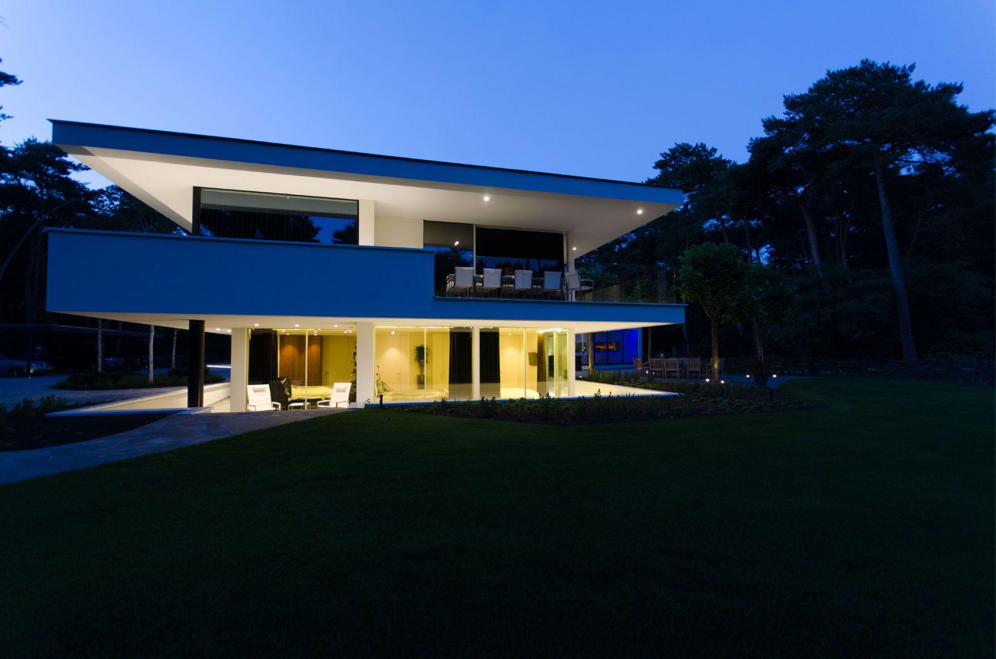 Ultramodern Noord Brabant House By Dpl Europe Caandesign