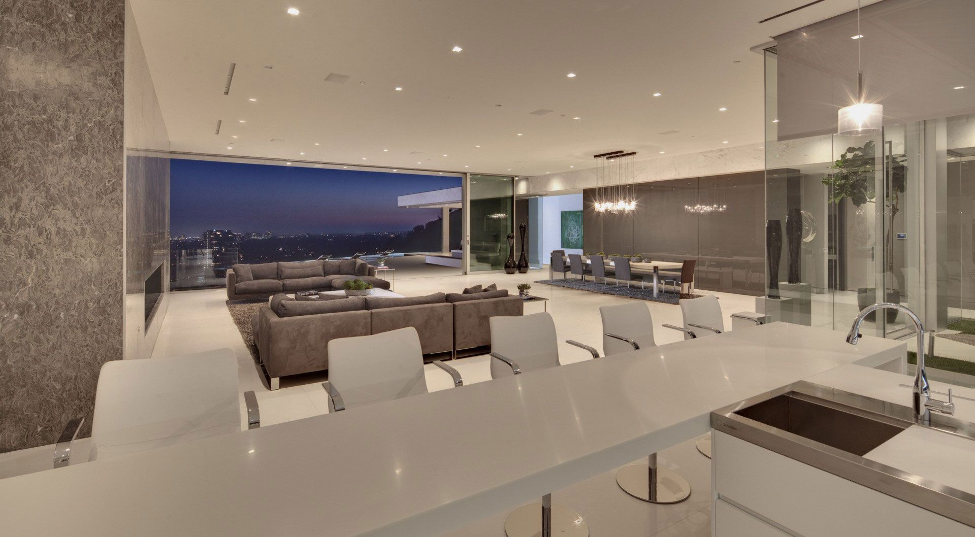 West Hollywood Modern Tanager Residence-09