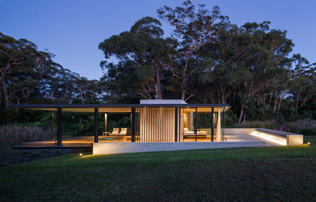Wirra Willa Pavilion by Matthew Woodward Architecture