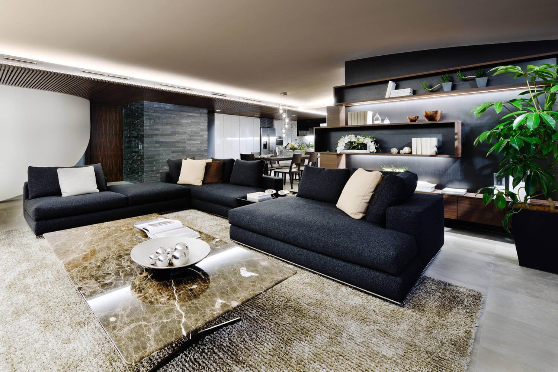design studios furniture. Yoyogi-Uehara Residence-cap-design-studio-04 Design Studios Furniture