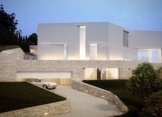 Cala Ambolo House by Ramon Esteve Estudio
