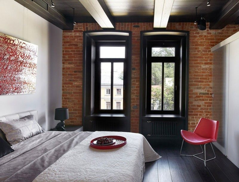 Brick Apartment Interior le loftld archtct - caandesign | architecture and home design blog