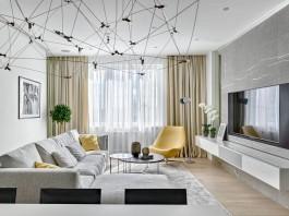 Stoletova Street Apartment by Alexandra Fedorova