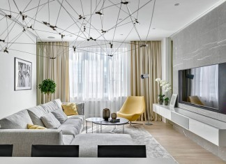 Stoletova Street Apartment by Alexandra Fedorova
