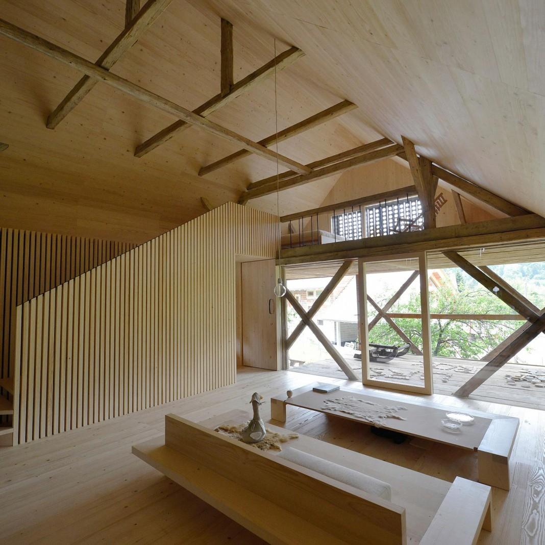 Alpine Barn Apartment by OFIS Arhitekti - CAANdesign ...