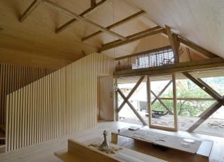 Alpine Barn Apartment by OFIS Arhitekti