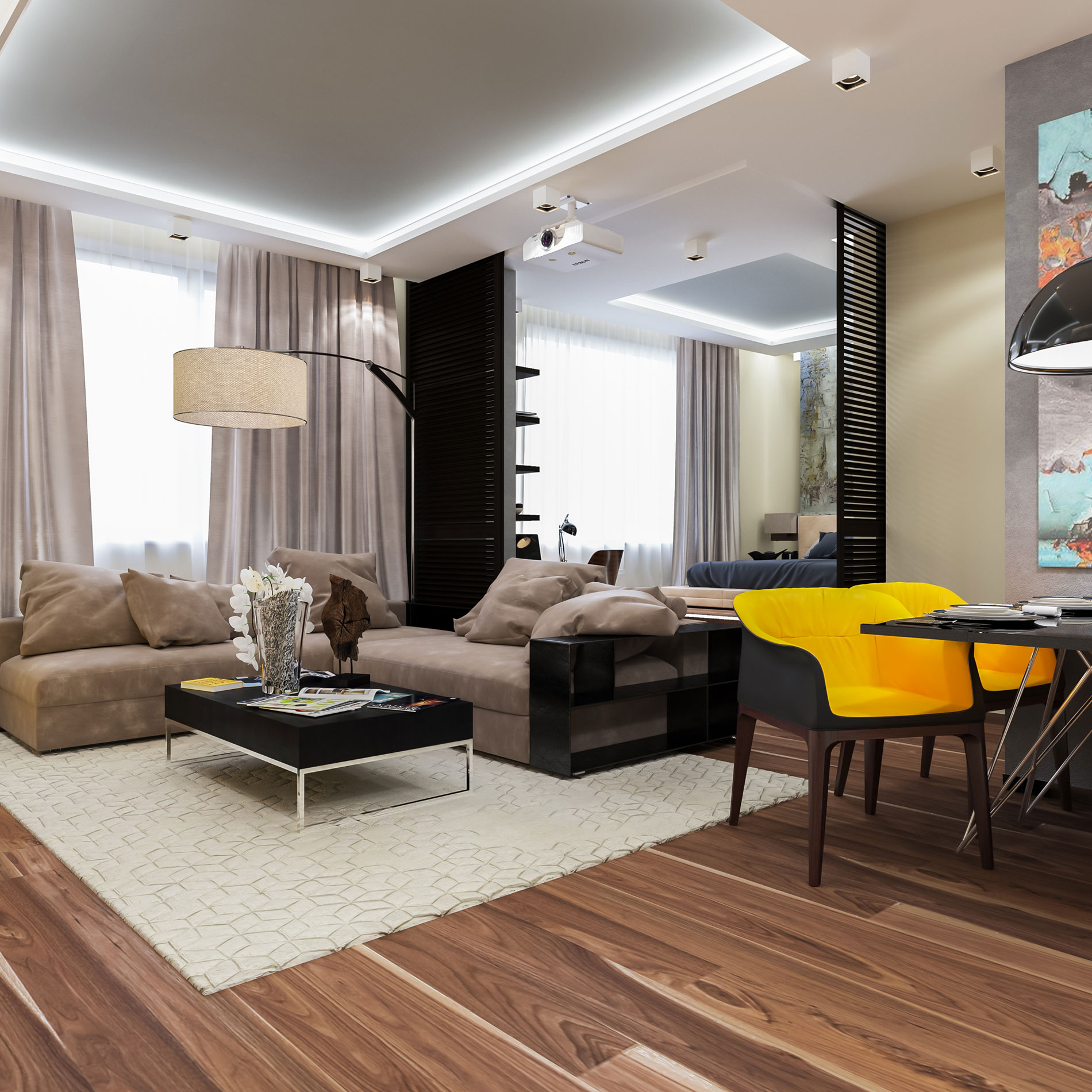Apartment in Moscow by Interierium-01