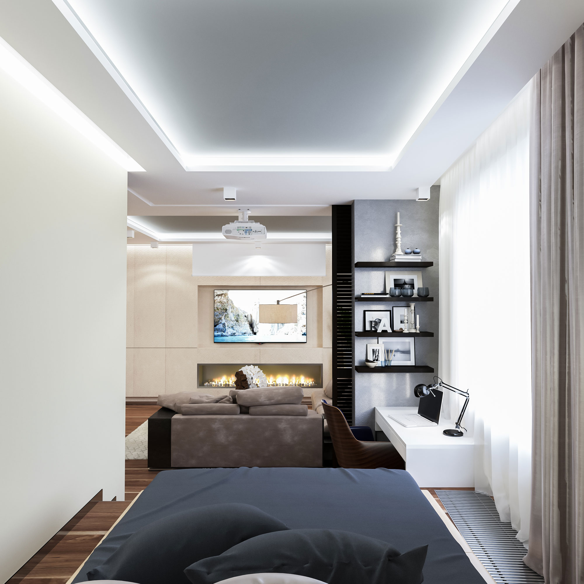 Apartment in Moscow by Interierium-05