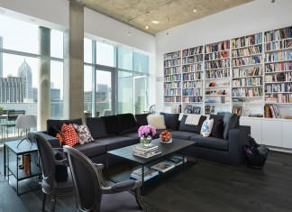 Chicago Penthouse by Dresner Design