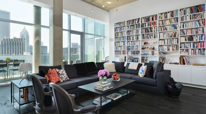 Chicago Penthouse by Dresner Design