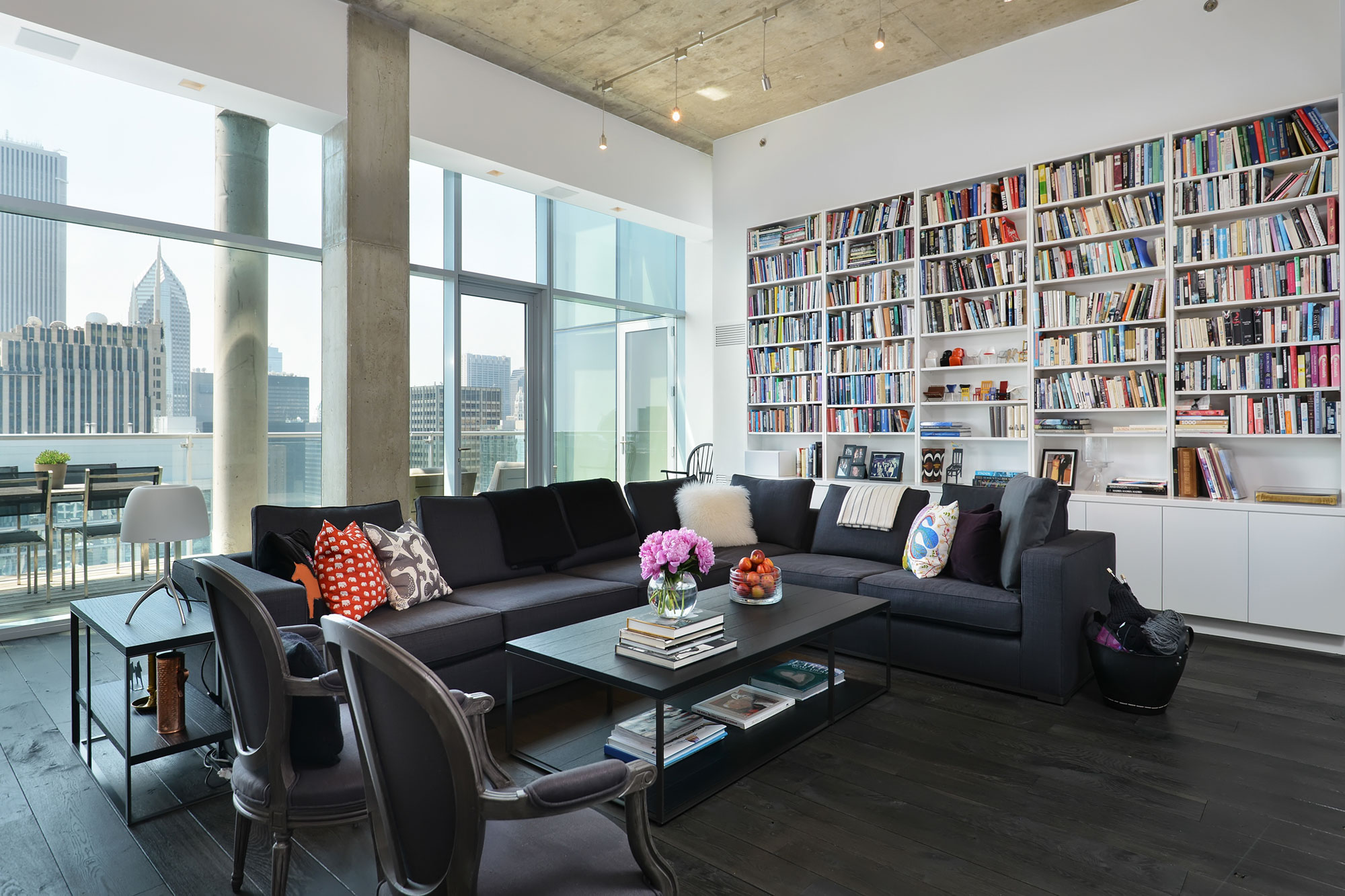 Chicago Penthouse By Dresner Design Caandesign Architecture And Home Design Blog