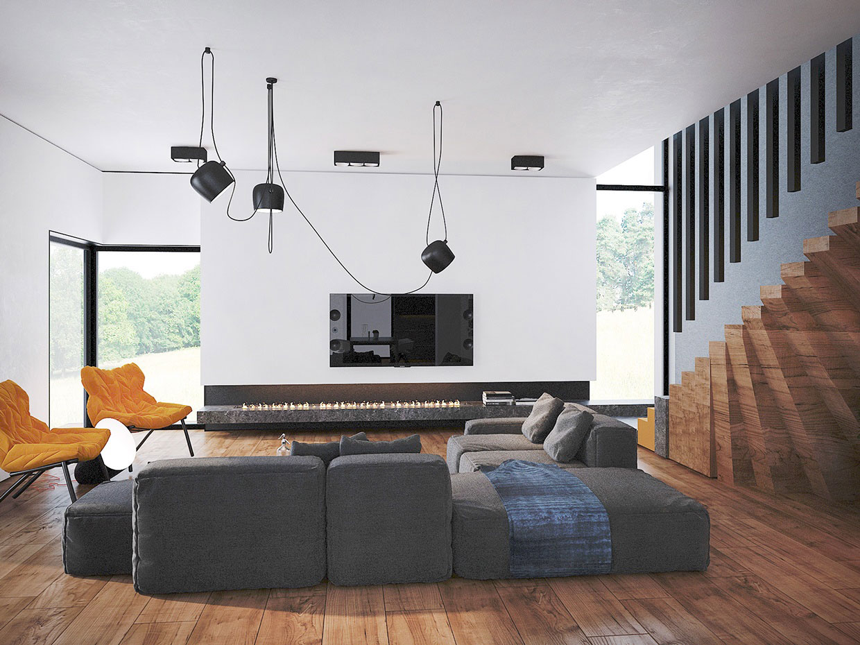 Colourful Chic Contemporary Home Visualized by Pavel Voytov-01
