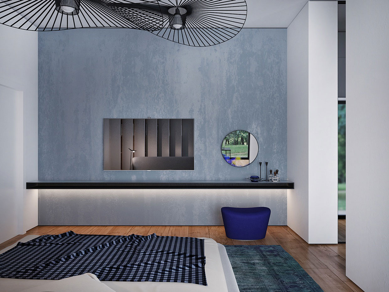 Colourful Chic Contemporary Home Visualized by Pavel Voytov-12
