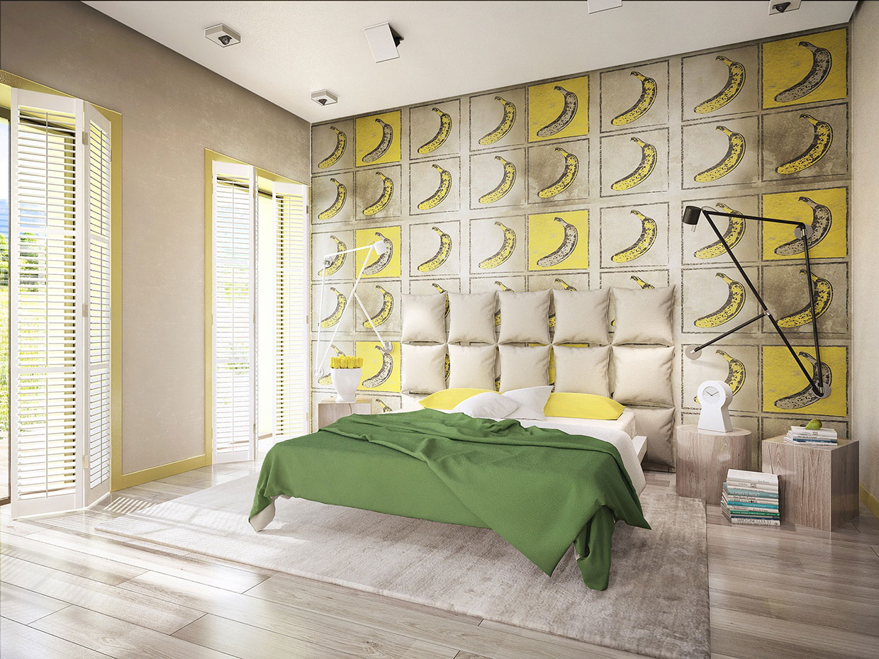 Colourful Chic Contemporary Home Visualized by Pavel Voytov-16
