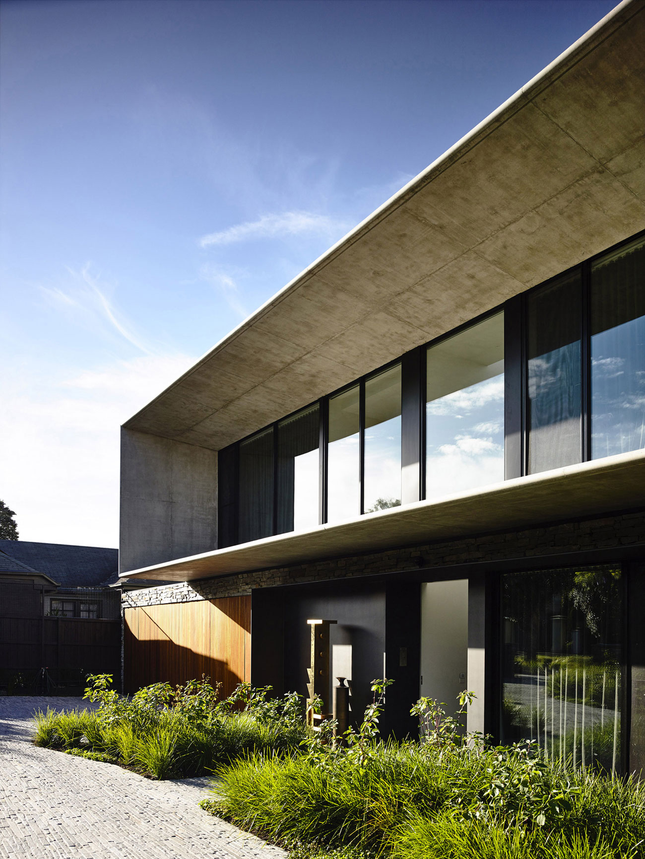 concrete housematt gibson architecture - caandesign