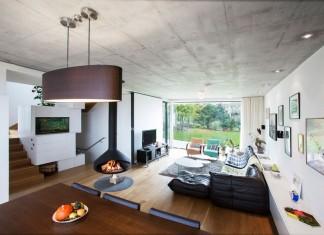 Double View House in Bratislava by Architekti Šebo Lichý