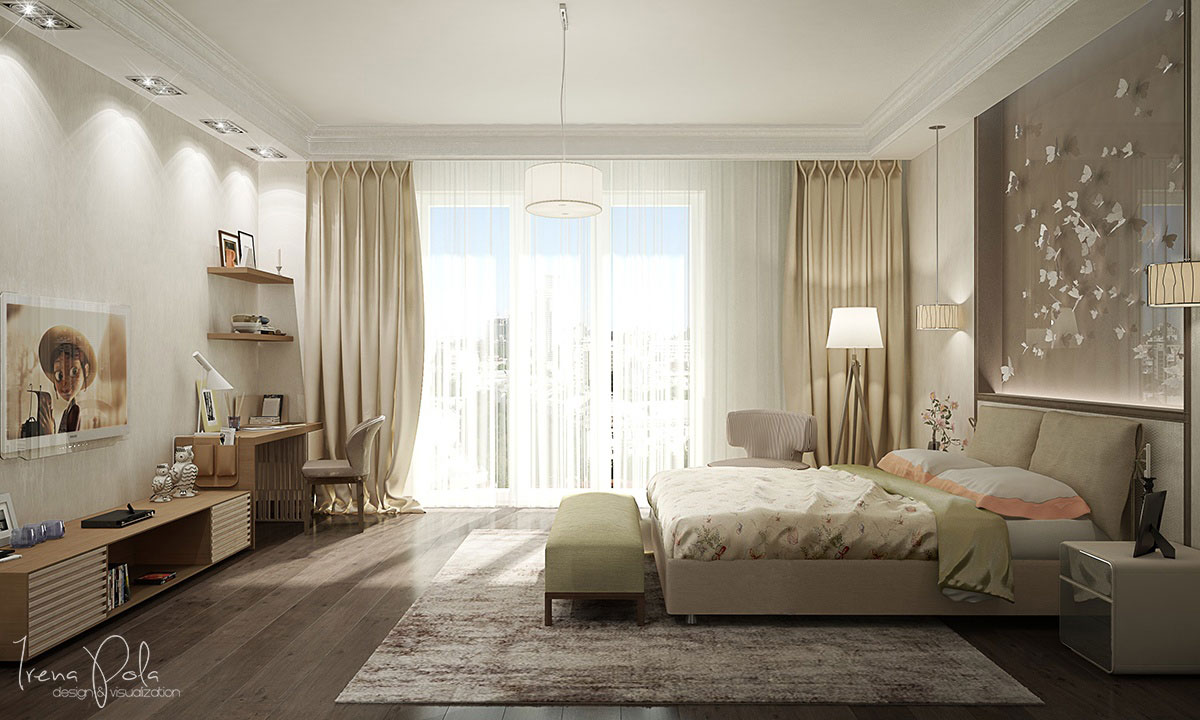Elegant Kiev Apartment Visualized by Irena Poliakova-12
