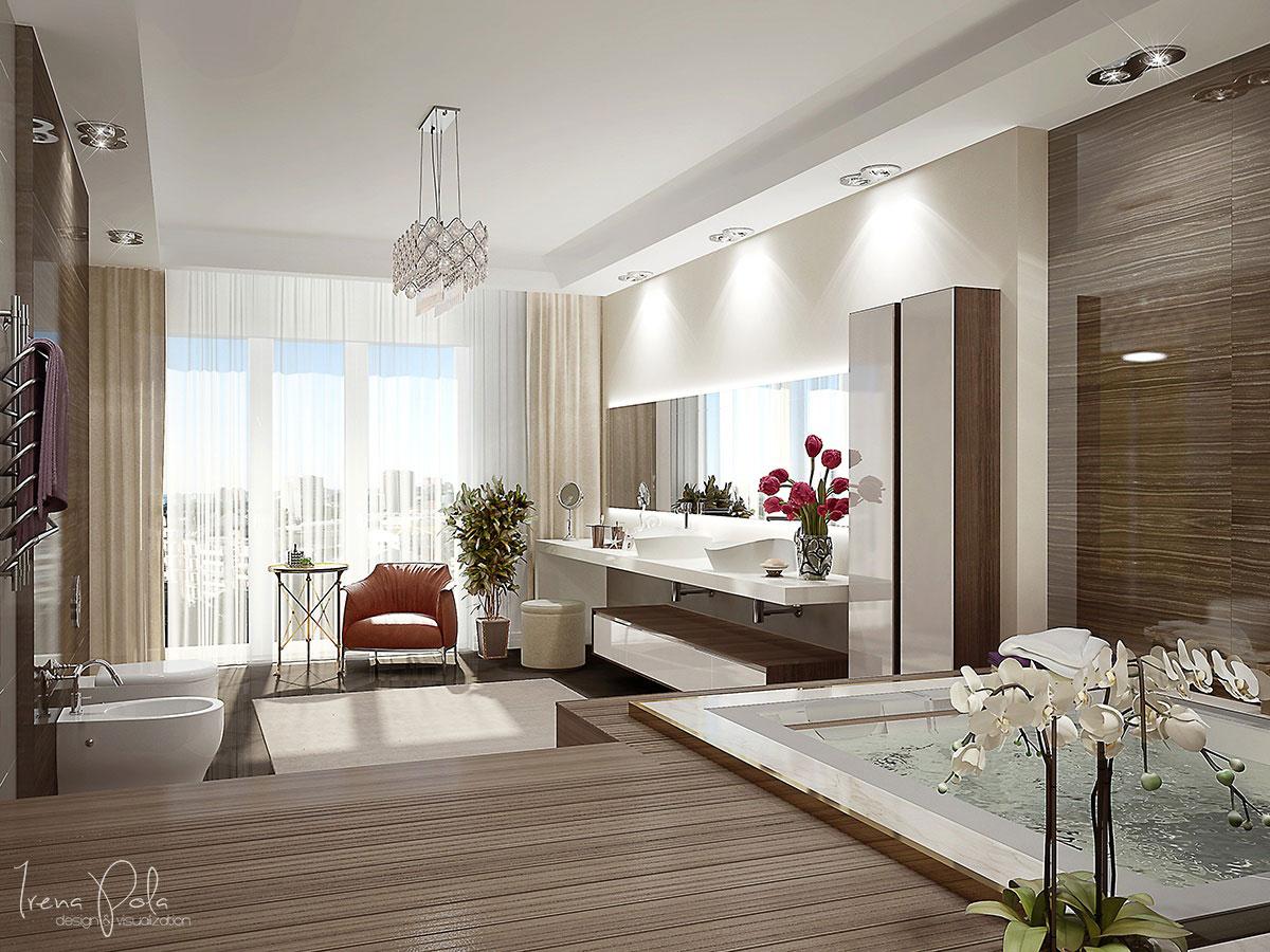 Elegant Kiev Apartment Visualized by Irena Poliakova-21