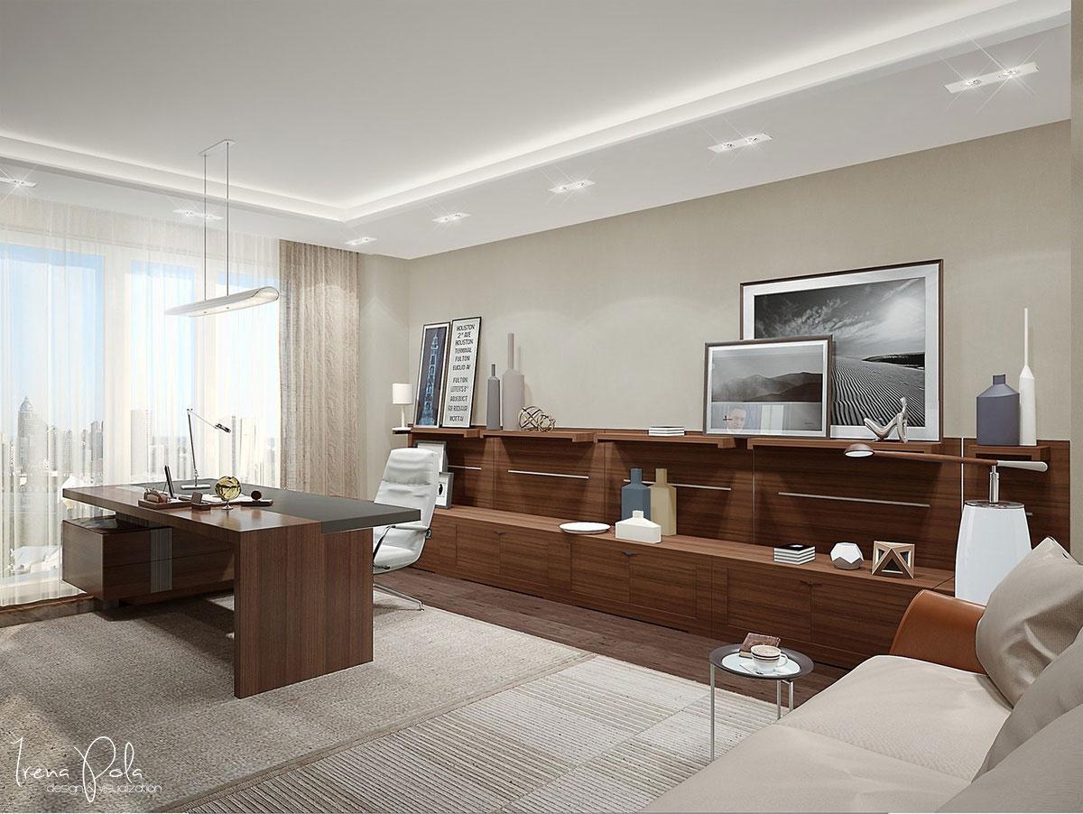 Elegant Kiev Apartment Visualized by Irena Poliakova-26