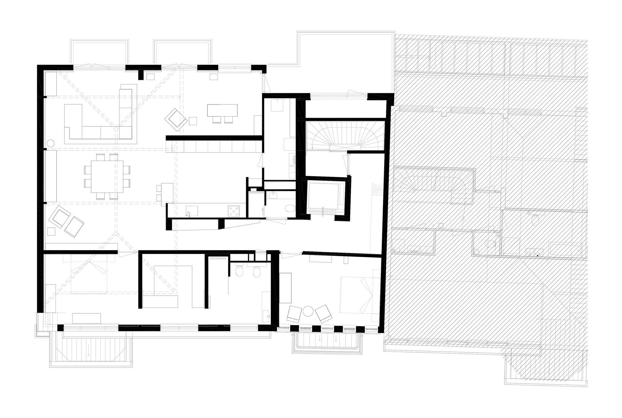 F Home in Rotterdam by PEÑA architecture-15