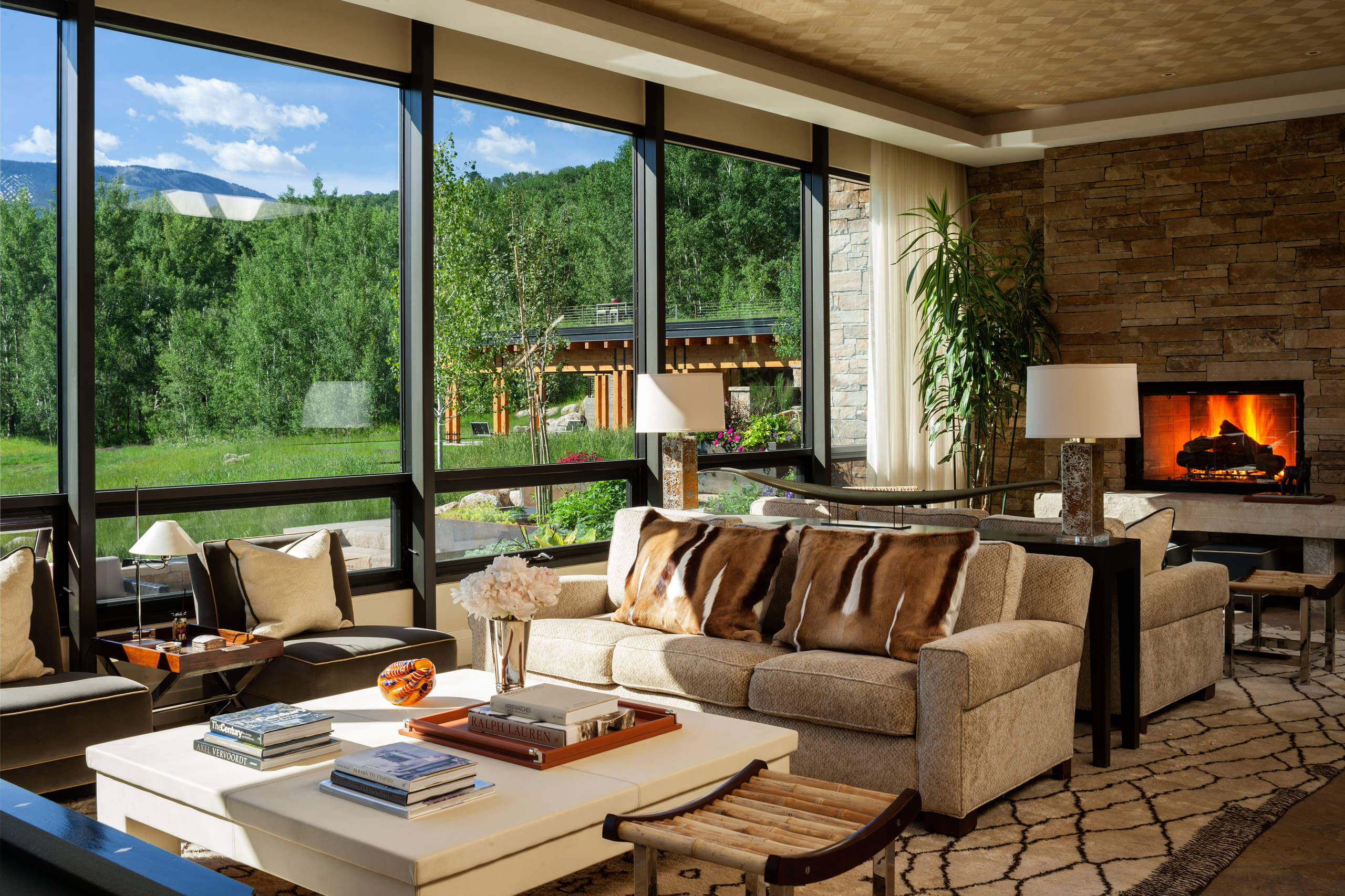 Rustic Vail Valley Retreat By Andrea Schumacher Interiors
