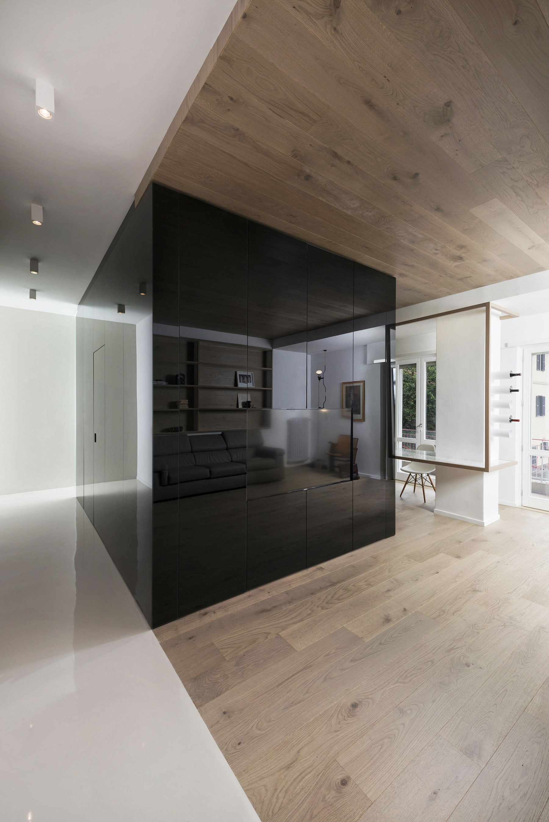 The Cube Apartment in Rome by Noses Architects-04