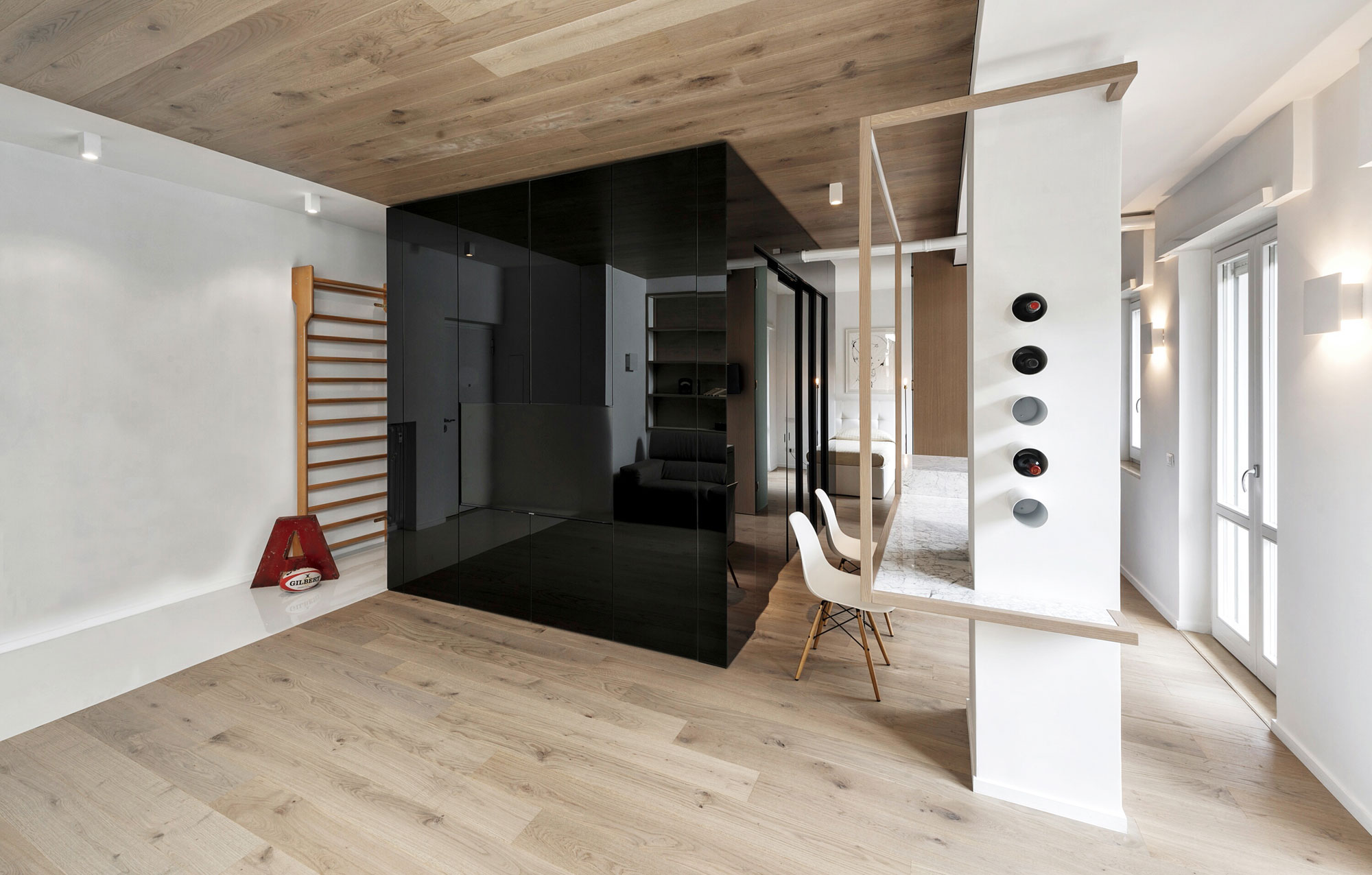 The Cube Apartment in Rome by Noses Architects-05