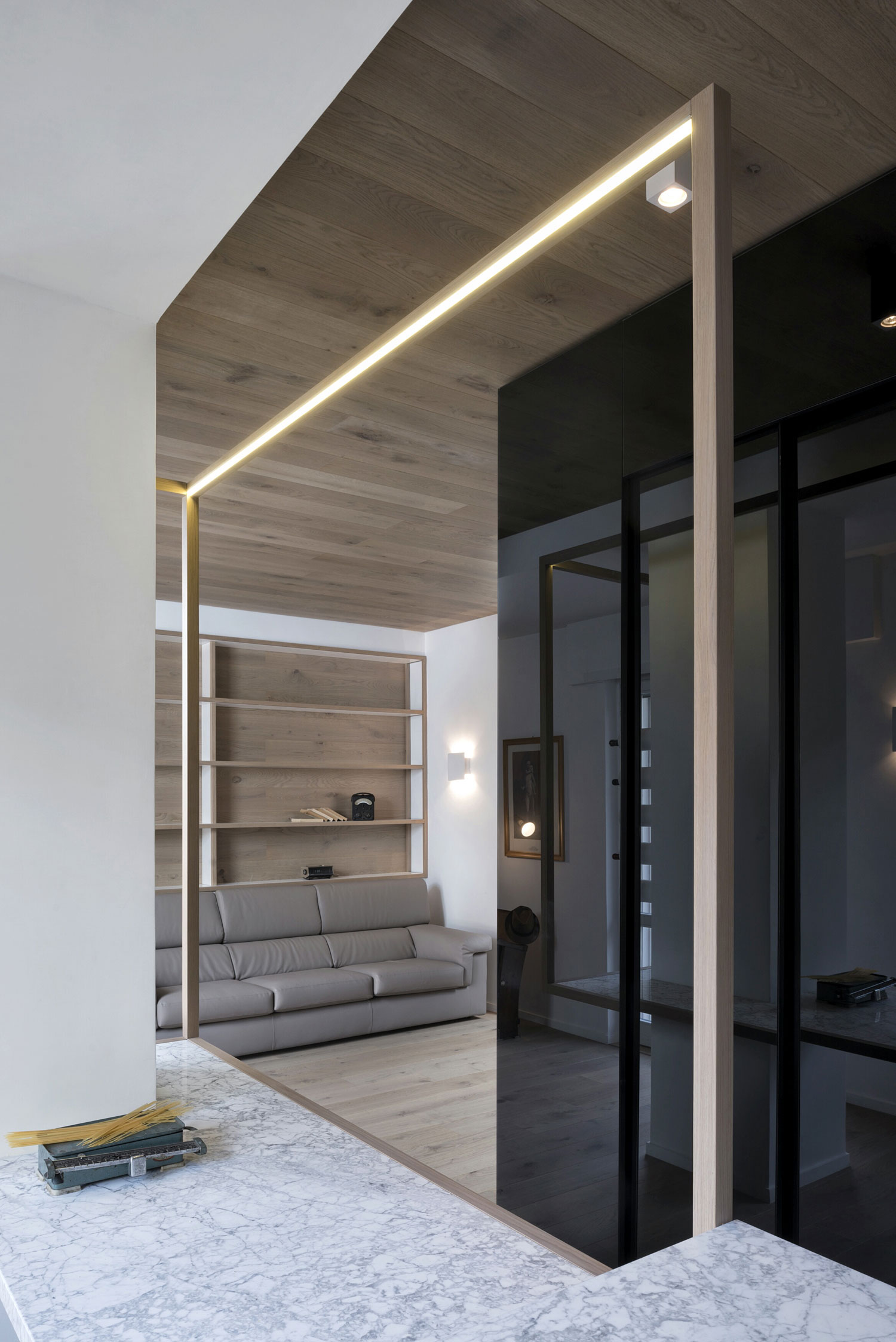 The Cube Apartment in Rome by Noses Architects-09