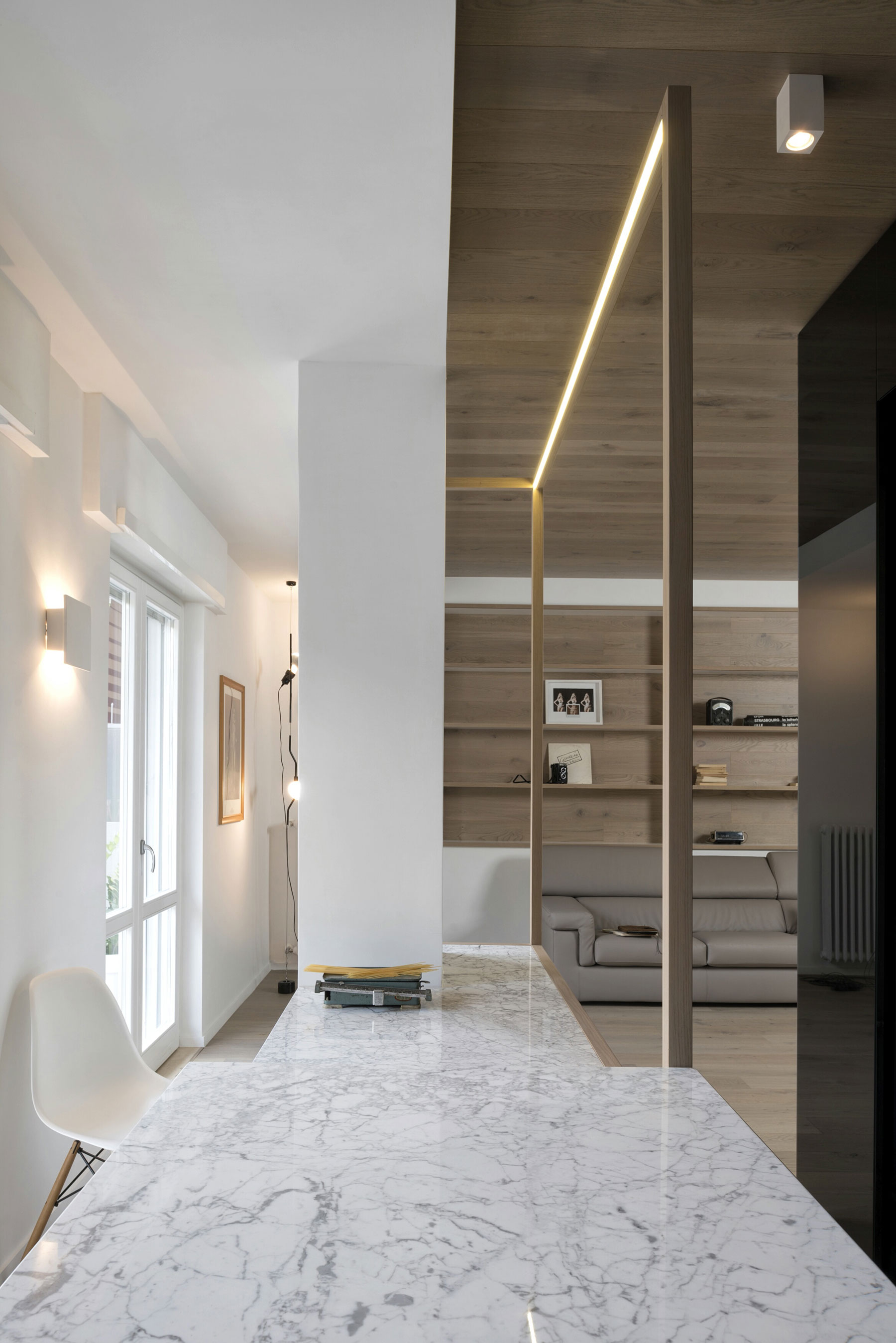 The Cube Apartment in Rome by Noses Architects-10