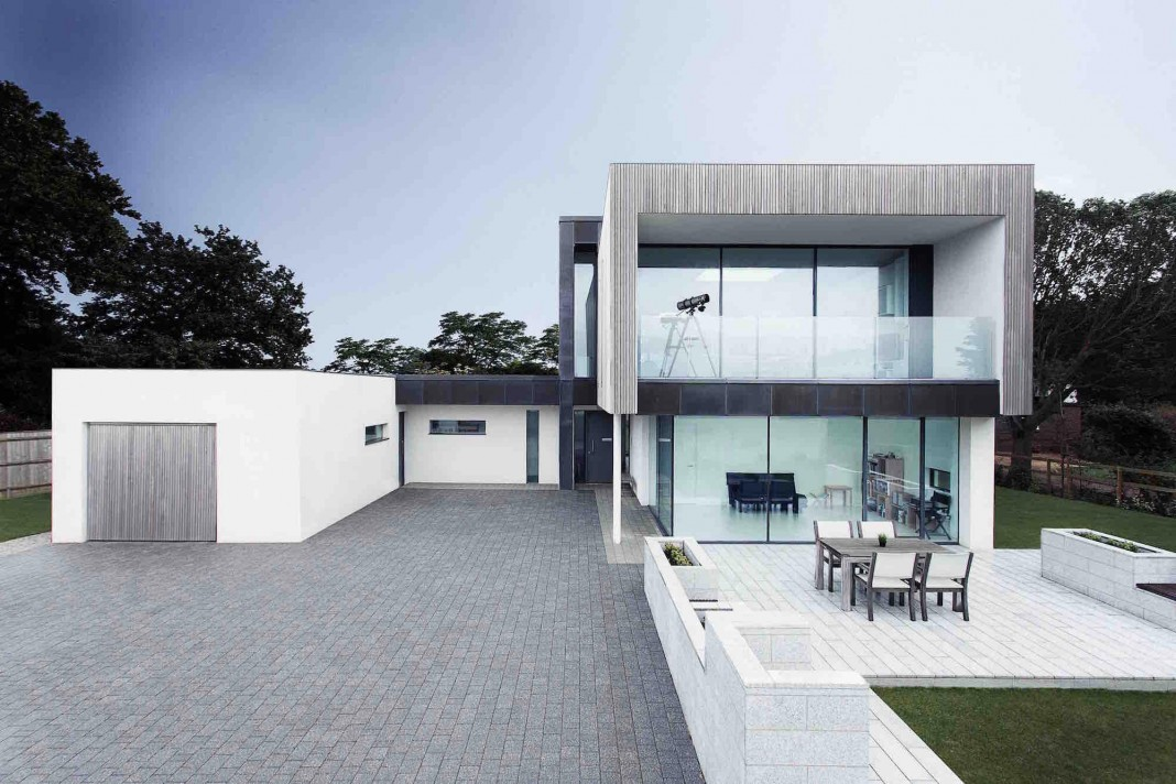 Zinc house by ob architecture caandesign architecture for Architecture zinc
