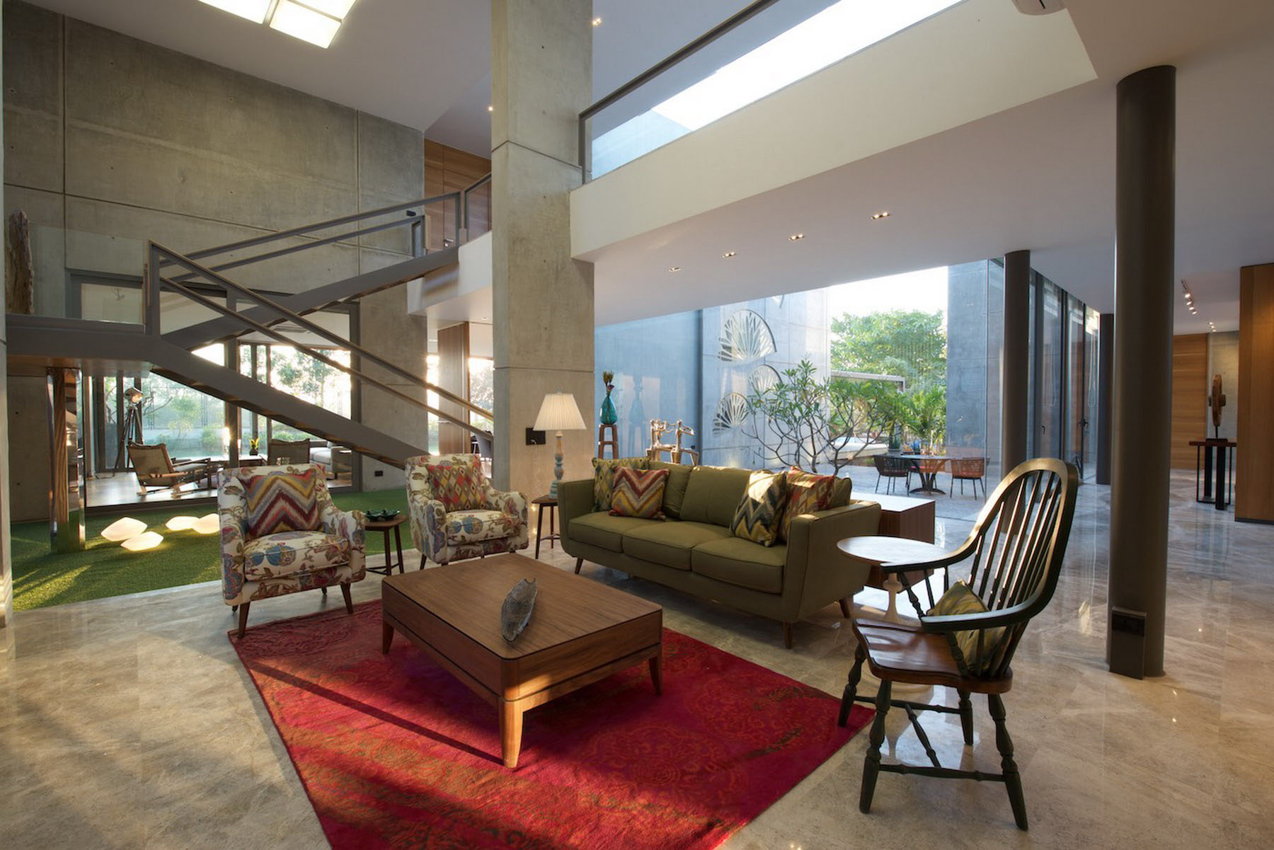 Ahmedabad Home By S A K Designs Caandesign Architecture And Home Design Blog