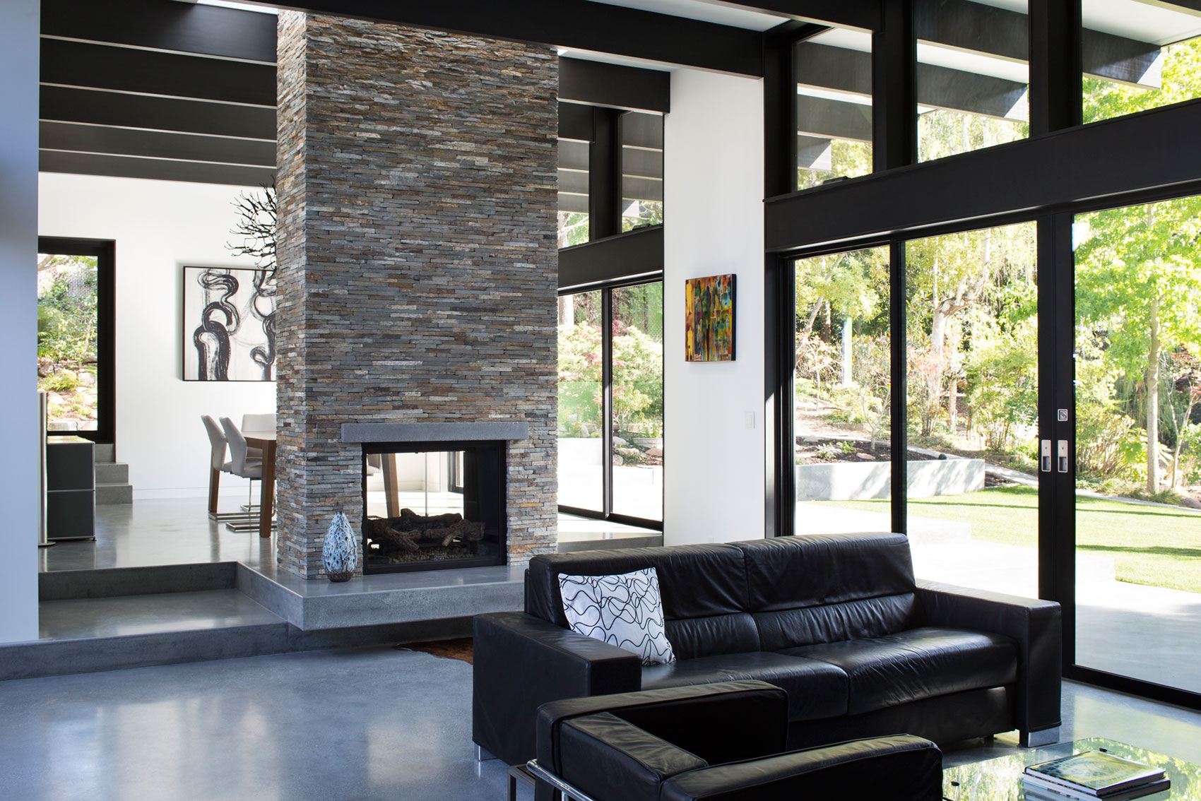 Atrium House, a Mid-century Architecture Residence by Klopf Architecture-‏08