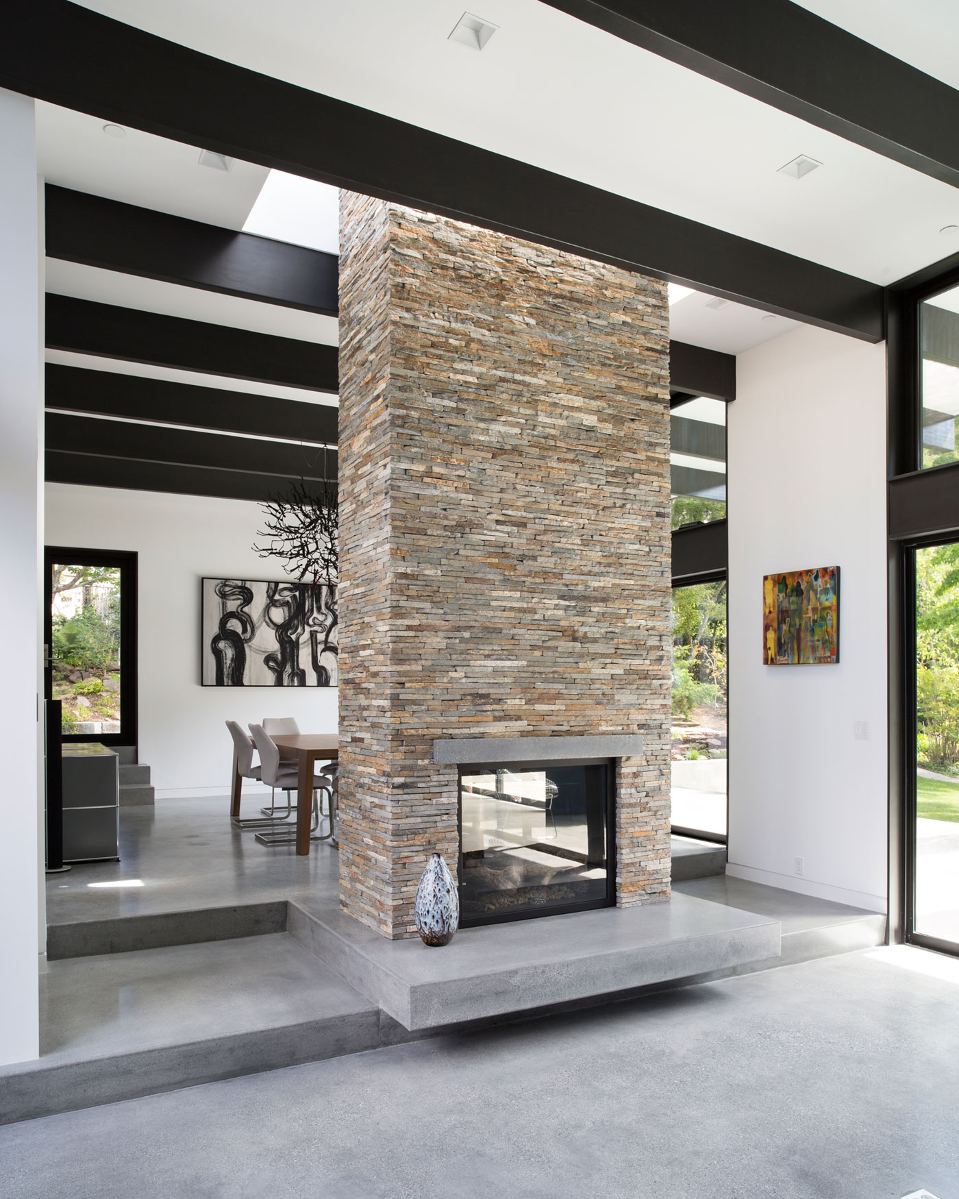 Atrium House, a Mid-century Architecture Residence by Klopf Architecture-10