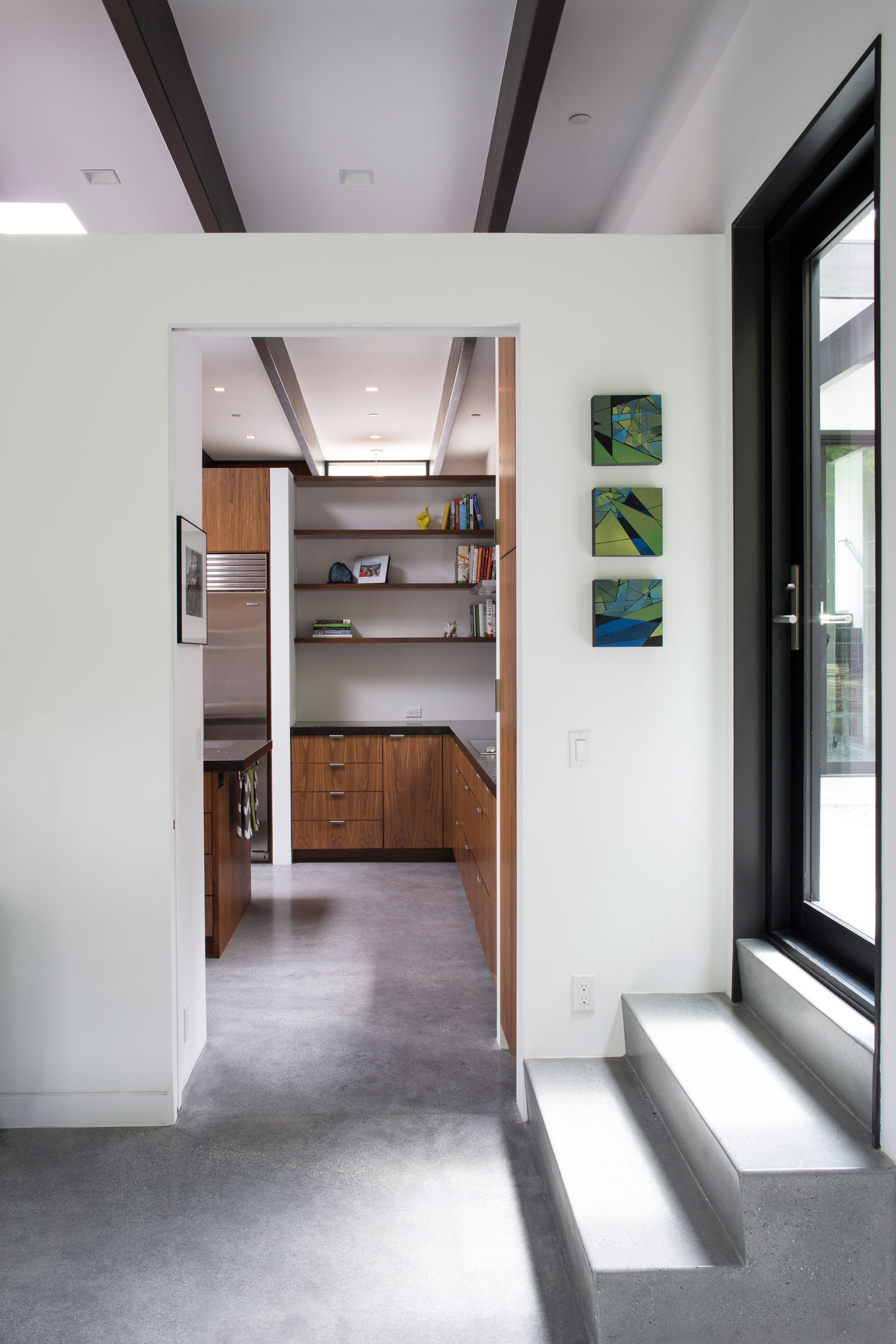 Atrium House, a Mid-century Architecture Residence by Klopf Architecture-14