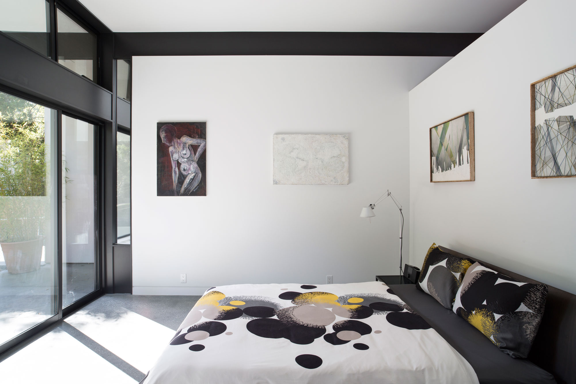 Atrium House, a Mid-century Architecture Residence by Klopf Architecture-17