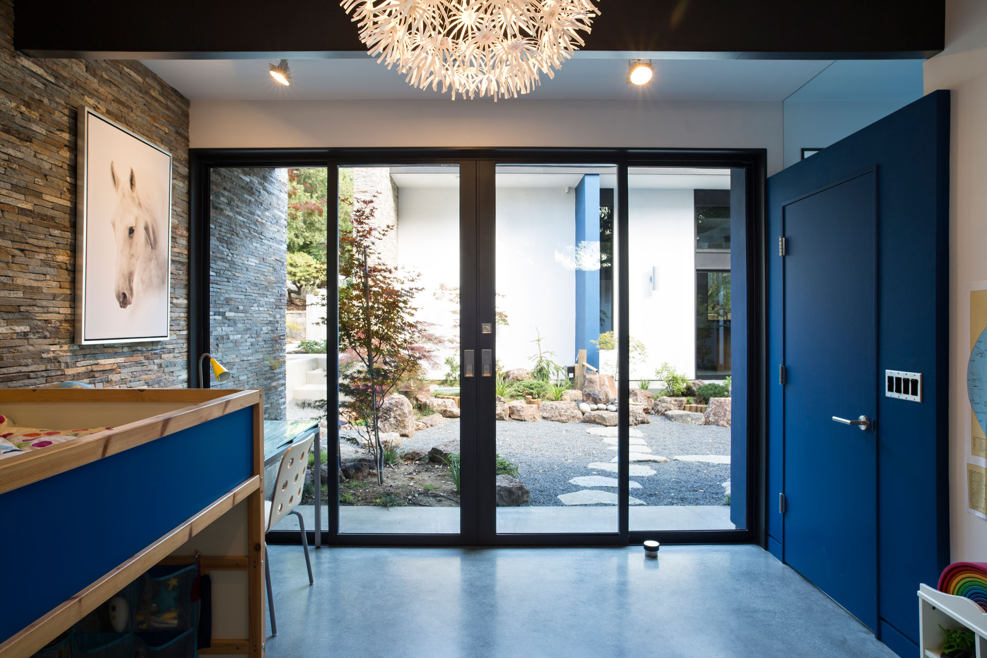 Atrium House, a Mid-century Architecture Residence by Klopf Architecture-20
