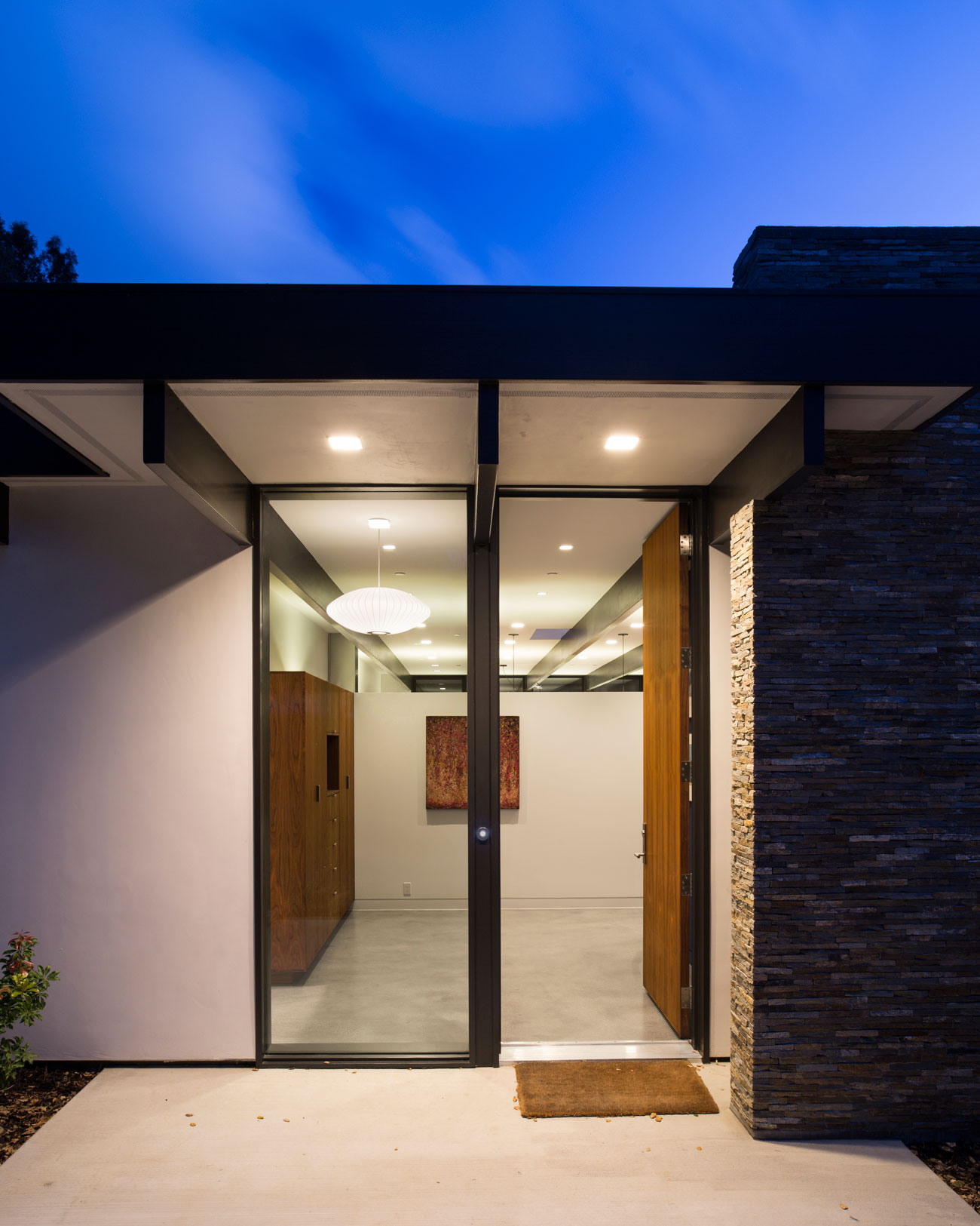 Atrium House, a Mid-century Architecture Residence by Klopf Architecture-27