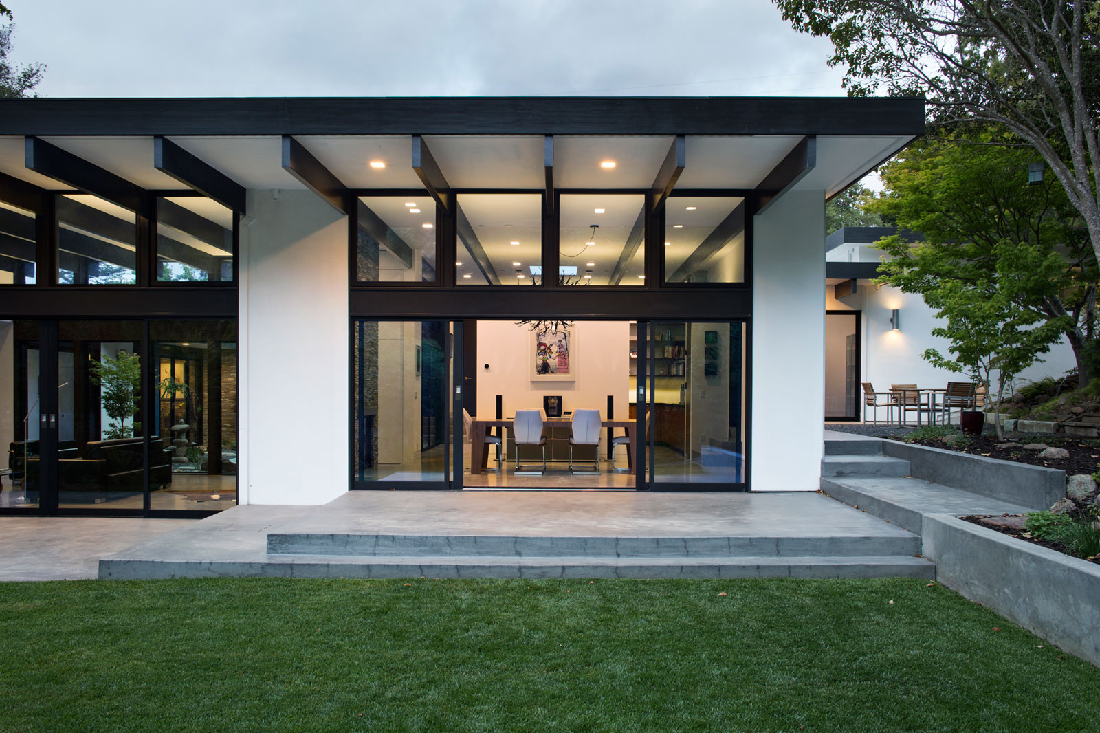 Atrium House, a Mid-century Architecture Residence by Klopf Architecture-31