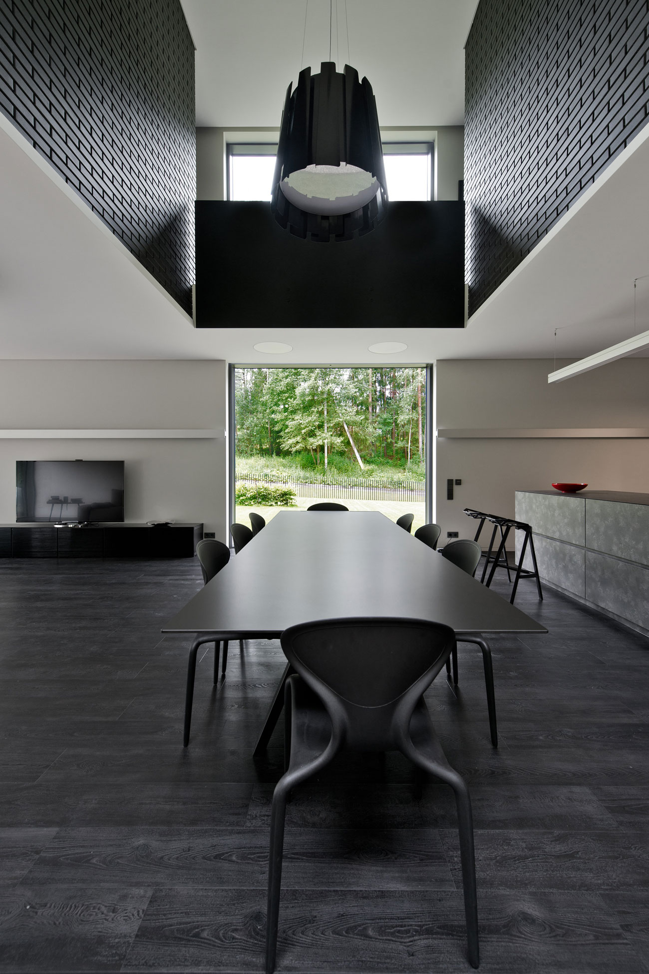 Black Boxed Family House in Minsk by Architectural Bureau G. Natkevicius & Partners-03