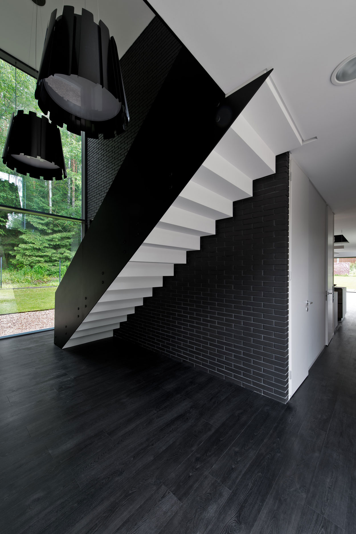 Black Boxed Family House in Minsk by Architectural Bureau G. Natkevicius & Partners-04