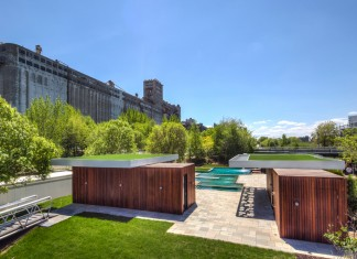 Bota Bota Gardens Located in the heart of Old Montreal by MU Architecture