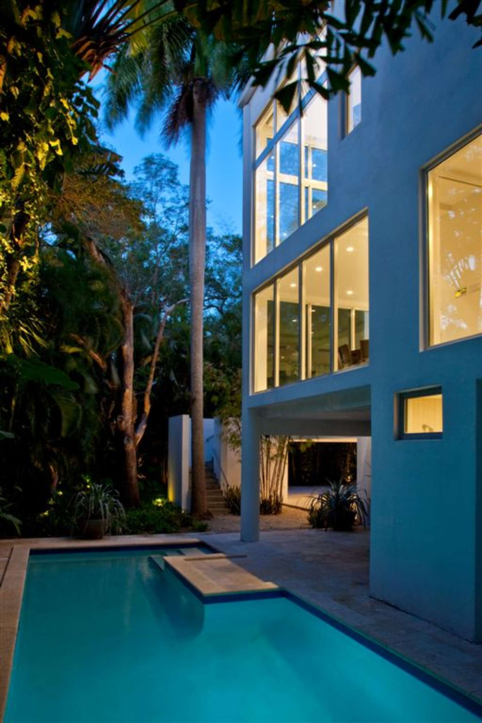 Calm and Minimalistic Spaces of Utopia Residence Coconut Grove by [STRANG] Architecture-01