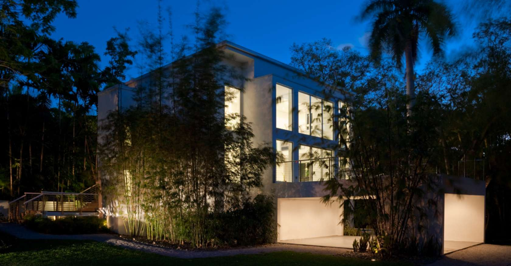 Calm and Minimalistic Spaces of Utopia Residence Coconut Grove by [STRANG] Architecture-02