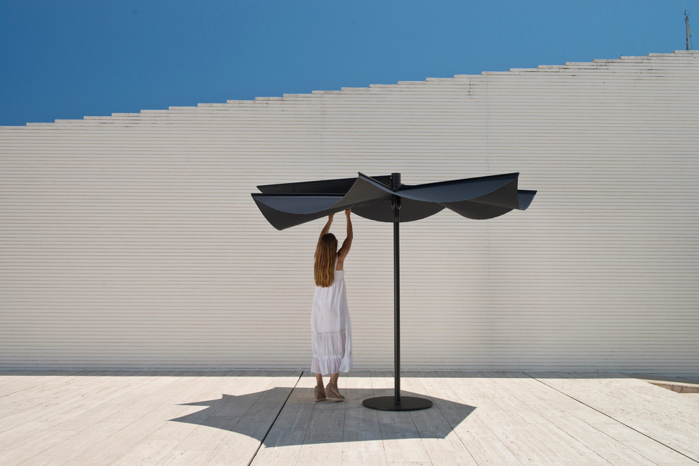 Calma won the Red Dot award: Best of the Best 2015 for the design of OM sunshade-02